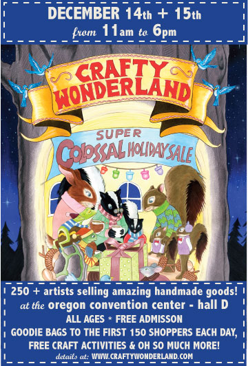 Crafty Wonderland Super Colossal Holiday Sale 2013!